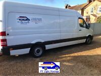 PY Light Haulage & Removals Affordable Man & Van Hire Short -Notice Welcome
