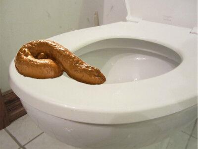 Bathroom Prank Fake Party Pooper Crap Turd - Human Poop Funny Joke Toilet Poo (Toy Story Halloween 2017)