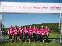 Against Breast Cancer Breast Walk Ever 4th September 2016