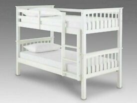 🔵💖SUPER SALE🔵💖Kids Bed New Single Wooden Bunk Bed In Multi Colors With Optional Mattress