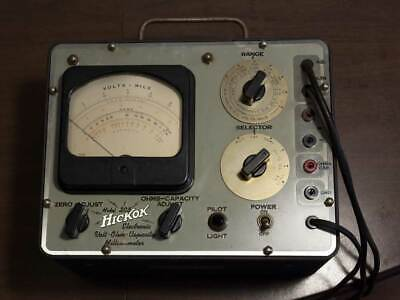 Hickok 203 Volt Ohm Capacity Inductance Milliammeter