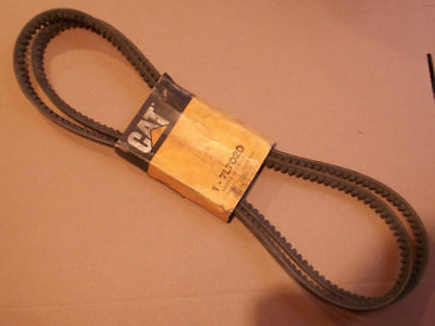 New Cat Surplus 7l7020 V- Belt Set Of 2 Fits Caterpillar Machine Sr4 Sr4b