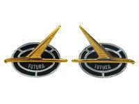 NOS 1975 1976 1977 1978 1979 Chevrolet Nova Fender Emblem OEM P//N 352588