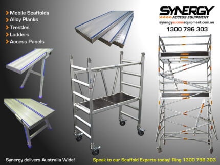 Aluminium Mobile Scaffold and Access Solutions Dandenong Greater Dandenong Preview