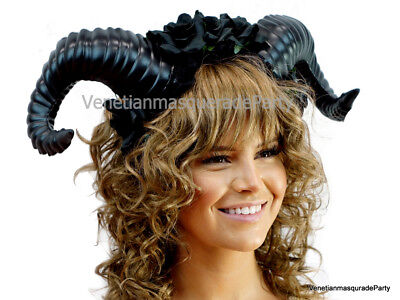 Magnificent Horns Headband Halloween Costume Dress up Party Headpiece Accessory ()