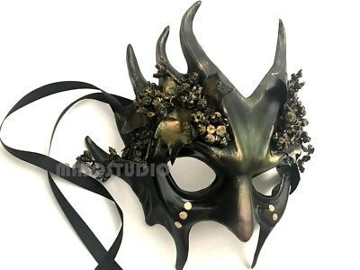 Halloween Alien Costumes (Alien Devil Masquerade Ball Mask Medusa Costume Halloween Dress up Party or)