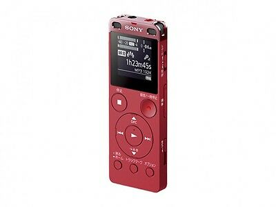 Sony Stereo IC Recorder ICD-UX560F Pink 4GB Japan Free Shipping With Tracking