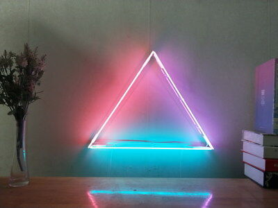 New Equilateral Triangle Neon Sign For Bedroom Wall Home Decor Art With Dimmer
