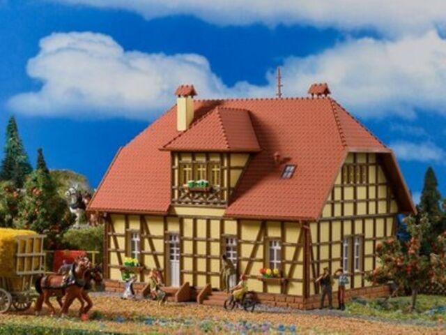 SH Vollmer 43654 Siedlungshaus-mit-Fachwerk Bausatz 3654