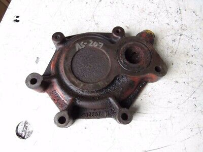 Case David Brown K952667 Water Pump Back Plate Housing 990 Tractor