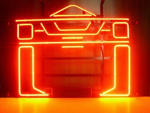 "Tron Recognizer Arcade Game Room Neon Light Sign 20""x16"" Bee"