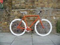 Brand new TEMAN single speed fixed gear fixie bike/ road bike/ bicycles + 1year warranty hh2