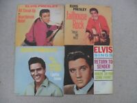 ELVIS PRESLEY PICTURE SLEEVE RELEASES IN GOOD CONDITION.