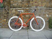 Brand new TEMAN single speed fixed gear fixie bike/ road bike/ bicycles + 1year warranty ww4