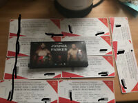 Anthony Joshua vs joseph Parker tickets.. Lower tier, middle tier and upper tier .