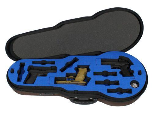 Peak Case Five Handgun Violin Case - Locking