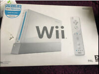 Nintendo Wii with NO controllers