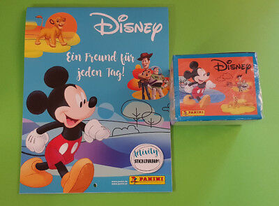 Panini Disney Mix Sticker Serie 1 Display 36 Tüten 180 Bilder + Stickeralbum Neu Disney Mix Stick