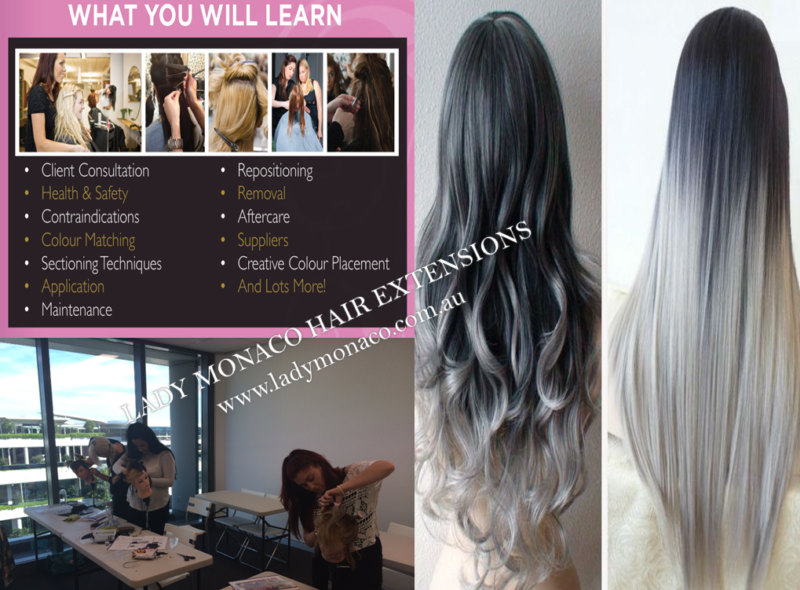 Class Training Course In Human Hair Extensions 6 Styles 499 Only