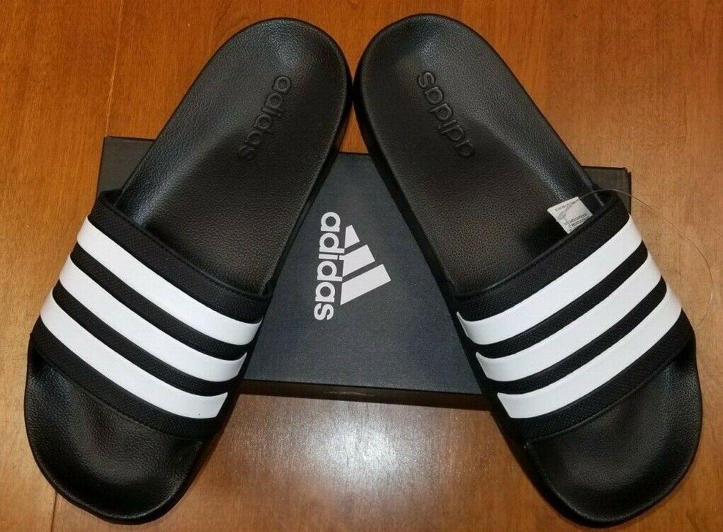 Adidas Adilette Slide Cloudfoam MEN'S SIZE 12 - Core Black/C