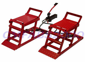 Hydraulic Car Ramps / Hydraulic Car Lifts / Adjustable Car Ramps - Brand New