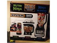 Nutri Ninja 1500 Watts BL682 Complete Kitchen System in Black & Grey