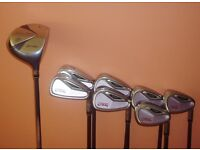 Ladies Yonex Graphite Golf Irons and Driver