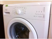 WHIRLPOOL 6th Sense - White , 6KG , 1400 , A+++ WASHER + 3 Months Guarantee + FREE LOCAL DELIVERY