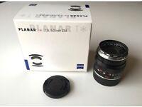 Zeiss 50mm f/2 Planar T* ZM (Leica mount)