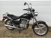 Lexmoto Arizona 125 Motorcycle 2016 in black
