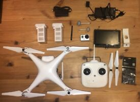 DJI Phantom 2 Drone with GoPro Hero 3+ and extras