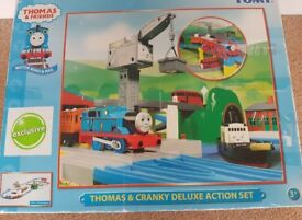 Thomas & Cranky Delux Action Set