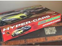 Micro Scalextric Hyper Cars 1.64 New and Ready to Race