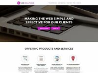 Single / Multi Page Professional Website Design + SEO (perfect for Small Businesses)