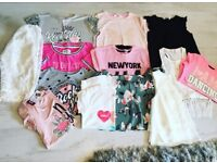 Girls bundle summer clothes 8/9 years. Dresses, tops etc