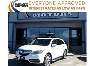 2015 Acura MDX Tech Package **NAVI, DVD, BACK UP CAM**