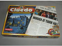 Cluedo Fun Family Detective Board Game Waddingtons 2000 COMPLETE EXC RARE