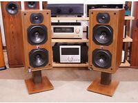 B&W DM1400 Standmount Monitor Speakers Bowers and Wilkins British Loudspeakers