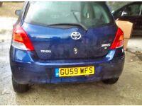Toyota Yaris, 2009 year, low mileage, Quick Sale