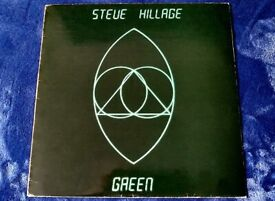 STEVE HILLAGE - GREEN LP (SUPER RARE EDITION)