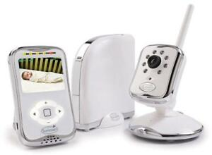 NEW Summer Infant Peek Plus Internet Baby Monitoring System, White