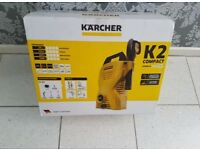 Brand New and Boxed Karcher K2 Compact Pressure Washer - 1400W. Lightweight, portable