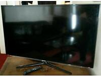 "Samsung 46 "" 3D smart tv full HD wireless Internet access perfect condition"