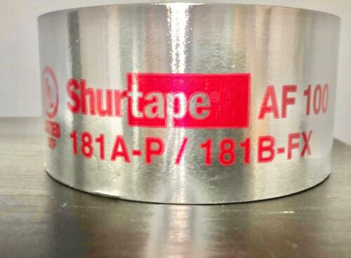 Shurtape. 181A-P/B-FX LISTED. HVAC FOIL TAPE