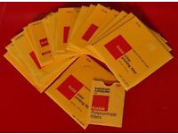 Kodak Panalure Paper & Collection of Kodak printing gells for Panalure B&W paper.