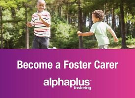 Foster Carers urgently required, apply now with Alpha Plus