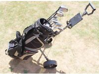 Golf Bag, Trolley and Clubs/Woods - St. Andrews