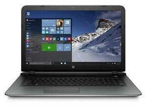 HP Pavilion 17-P180ca A10-7300, Turbo  3.2 GHZ 8GB 750GB Radeon R6 graphics Mc Office PRO 2016