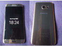 ✸Samsung Galaxy S7 edge SM-G935 (Latest Model) - 32GB - Gold Platinum - Chipped screen✸