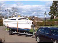 Hunter Legend 240 Sailer - Trailer Yacht